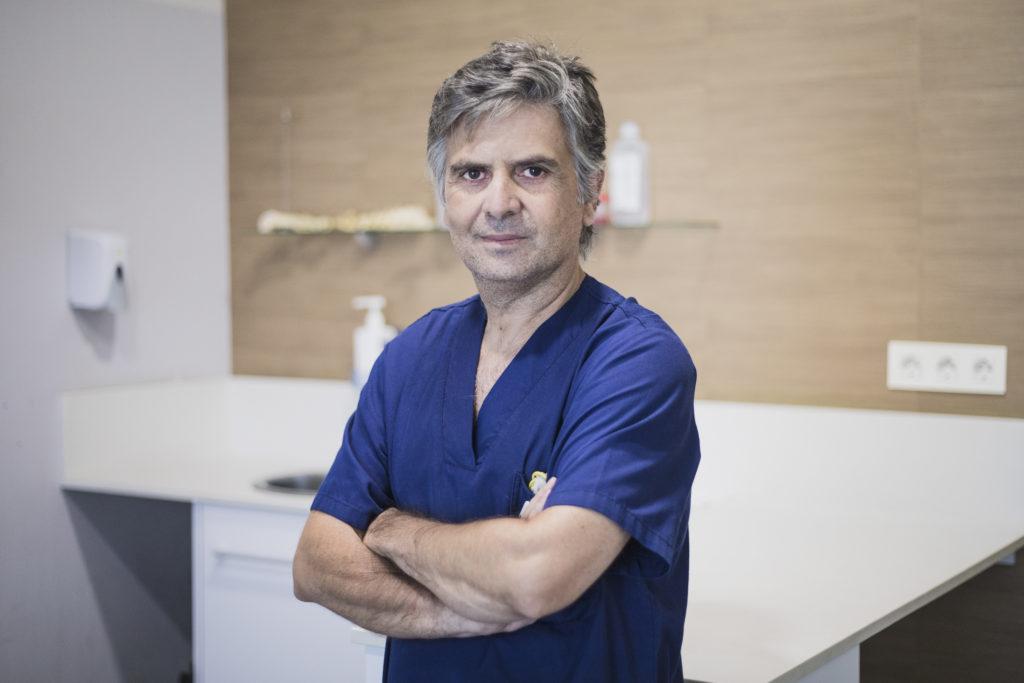 Alfredo Recio, responsable delServicio de Neurología Veterinaria de Valencia Sur