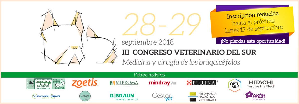 El Hospital Veterinario Valencia Sur estará representado en el III Congreso Veterinario del Sur 1