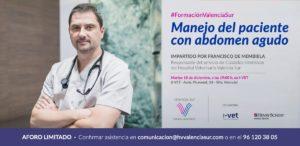 Formación Valencia Sur - Manejo del paciente con abdomen agudo - Francisco de Membiela